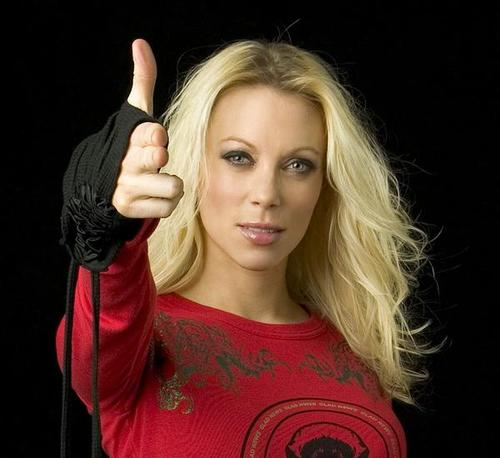 Arch Enemy Angela Gossow
